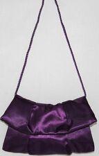 NEW Style & Co. Satin Patti Evening Bag PURPLE