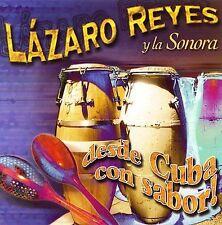 Audio CD Desde Cuba Con Sabor - Reyes, Lazaro Y La Sonora - Free Shipping