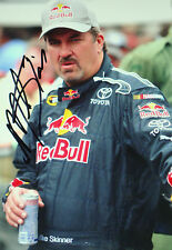 Mike Skinner SIGNED, Nascar Sprint & Truck Series Driver Portrait 2012