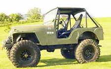 Full Roll Cage Kit Jeep CJ5 CJ7 MB Willys FREE SHIPPING