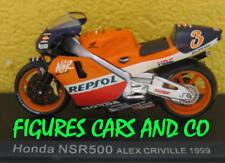 1/24 MOTO GP  SERIE 1 N° 14 HONDA NSR 500 1999  ALEX CRIVILLE # 1