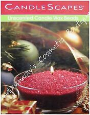 Candlescapes Wax Beads ROMANTIC RED 15 oz. No Mess Candle Free US Shipping