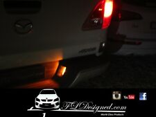 Mazda bt50 ORANGE L.e.d numberplate bulbs 2012- 2017 by FLDesigned
