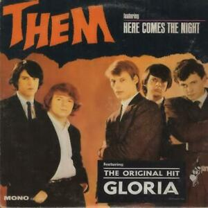 THEM/ VAN MORRISON Here Comes The Night 1965 or. mono US lp NICE condition!!