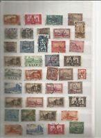 Saargebiet Saar Briefmarken old Stamps Sellos Timbres