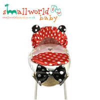 Personalised Boys Red Mickey Mouse Moses Basket Cover Set (NEXT DAY DISPATCH)