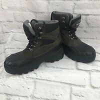 Covington Thinsulate women's winter snow boots size 7 green and black