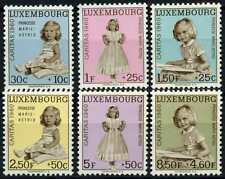 Luxembourg 1960 SG#685-690 National Fund MNH Set #D67990