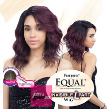 CHASTY - FREETRESS EQUAL INVISIBLE L PART SYNTHETIC FULL WIG MEDIUM WAVY
