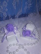 12 quinceaneras decoration, Sweet 16 small boxes for candies with 4 candles