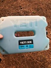 New listing Yeti Ice Cooler Ice Pack 4lb Barley Used, In Great Condition