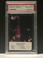 1988 fournier estrellas michael jordan #22 psa 10 Gem Mint Chicago Bulls HOF!!!!