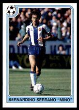 "Panini Futbol 92-93 (España) Bernardino Serrano ""Mino"" no. 90"