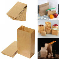 Brown 10X Food Recyclable Candy US Kraft Gift Paper Packaging Bags Wedding