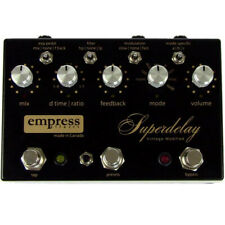 Empress Vintage Modified Superdelay Delay Guitar Pedal w/ Power Supply +Picks