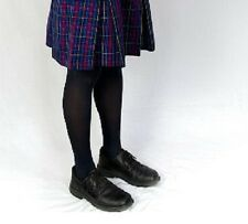 2xChildren Girl School Tights Stockings Opaque Navy Blue School Uniform Stocking
