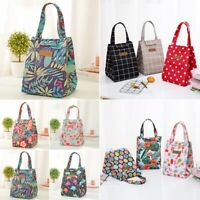 Portable Lunch Bag Thermal Cooler Waterproof Insulated Picnic Tote Storage Bags