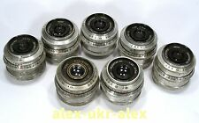 Lot of 7 Industar-50 3,550 mm lenses for FED Zorki M39. Need service.7 pcs.