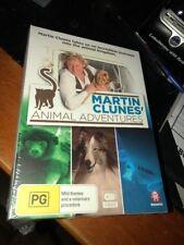 MARTIN CLUNES ANIMAL ADVENTURES 3 Disc Set Region 4 Brand New Sealed