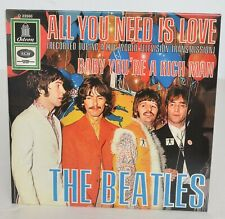 """BEATLES """"All You Need Is Love/Baby Rich Man"""" 7"""" from 2019 Singles Collection Set"""
