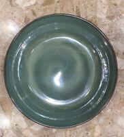 "Sango 4934 NOVA GREEN Stoneware 13 3/4"" Large Salad / Pasta Serving Bowl"