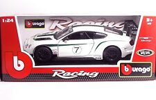 Bburago 28008 Bentley Continental GT3- METAL Scala 1:24