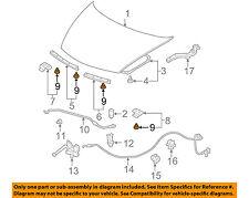 HONDA OEM Hood-Front Seal Clip 91518SM4003