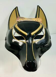 Fun World's Anubis Halloween/Cosplay Mask, Standard Adult Size, Ages 15+