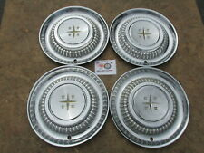 "1958 DESOTO FIREDOME, FIREFLITE, FIRESWEEP 14"" WHEEL COVERS, HUBCAPS SET OF 4"