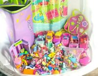 Polly Pocket Huge 300-ish piece lot, circa early 2000s Bags Accessories