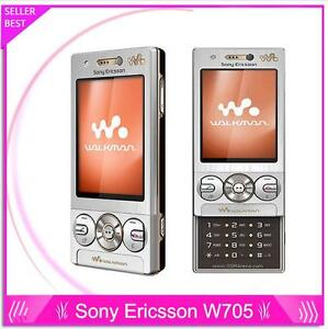 Unlocked Sony Ericssion W705 Original 3.15MP Camera 3G WIFI MP3 MP4 player