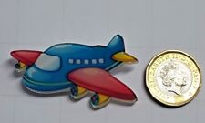 Plane Aeroplane Acrylic Badge - Pin Badges - Backpack - Brooch -UK Stock