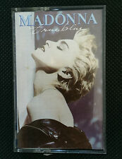 MADONNA - TRUE BLUE - 1986 CASSETTE