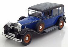 Model Car Group 1928 Mercedes Benz Nurburg 460/460 K W08 Blue 1/18 Scale New!