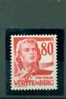 Württemberg, Schiller Nr. 36 postfrisch **