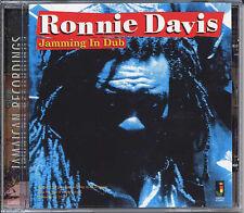 RONNIE DAVIS JAMMING IN DUB NEW CD £9.99