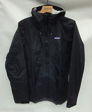 Patagonia Mens Torrentshell Rain Jacket 83802 Black Size Extra Small