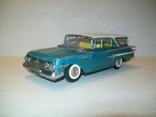 Vintage Tin Friction Atc 1960 Chevrolet Bel Air Station Wagon Car - Japan