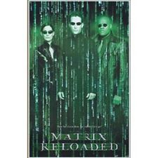 The Matrix Reloaded Movie Commercial Release Poster