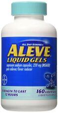 Aleve Liquid Gels 160 Liquid Gels