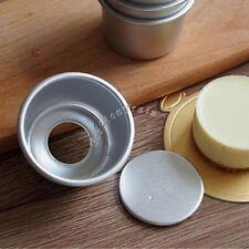 5Pcs Mini Cake Pan Tin Removable Bottom Pudding Mold Pie Cupcake DIY Tools