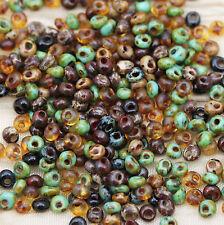 Exclusive!!! 3mm *Canyon* Picasso Mega Mix Toho Magatama beads - 30grams