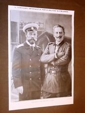 Baltischport nel 1912 Finlandia Convegno Guglielmo II e Nicola II Romanov