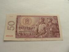 Tschechoslowakei  50 Korun 1964