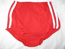 "Ladies GYMPHLEX SCARLET RED School Gym Knickers XXL (W32-38"") NEW!  07/04"