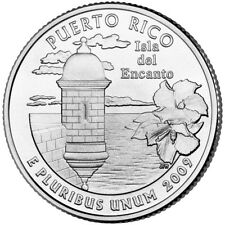2009 PR PUERTO RICO P&D Quarter Set Free Shipping