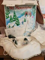 Dept 56 Heritage Village 1997 ANIMATED SKI MOUNTAIN 52641 Retired 1998 AS IS