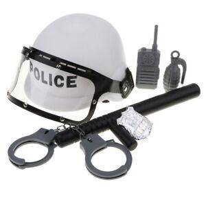 Police Pretend Role Play Walkie-talkie   Kids Dress Up Toy Costume