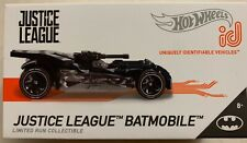 NEW HOT WHEELS 2019 ID JUSTICE LEAGUE BATMOBILE LIMITED RUN COLLECTIBLE TOY CAR