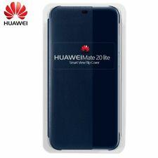 Funda Original Oficial Huawei Mate 20 Lite Flip Cover Azul (Con Blister)